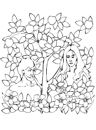 adam and eve coloring page u2013 rocky mount preschool kids church