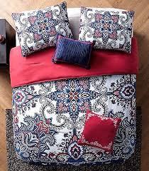 Paisley Comforters Navy Paisley Comforter Set Bedding Full Queen Red Bed Decor