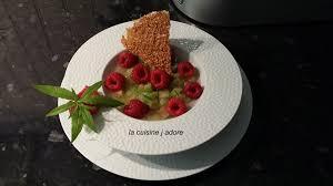 vervenne cuisine la cuisine j adore nage de rhubarbe a la verveine framboises