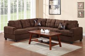 chocolate sectional sofa fabric sectionals living room chocolate microfiber sectional