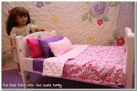 free american doll bedding pattern
