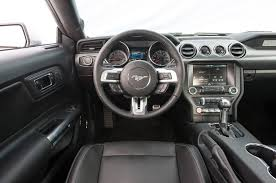 mustang gt 2015 interior roush modified 2015 ford mustang details revealed motor trend