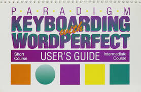 paradigm keyboarding with wordperfect a computer managed approach