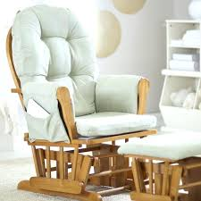 Baby Nursery Rocking Chairs Extraordinary Baby Glider And Ottoman Furniture Padded Glider