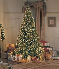 lifelike artificial trees and dura lit lights from great