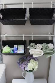 Towel Storage In Small Bathroom Bathroom Awesome Bathroom Towel Storage Ideas With Hanging Black