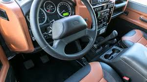 land rover defender 90 interior land rover defender 90 autobiography limited edition youtube