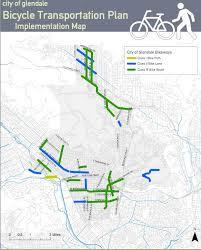 Glendale Arizona Map by Glendale Better Bike