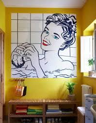 pop interior design pop art bathroom decoration ceardoinphoto