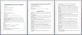 wedding contract template like this item wedding contract