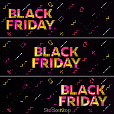 black friday banner black friday sale 2016 black web banner u2014 premium vector