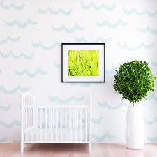 move over unicorn mermaid is the new trend in town project nursery wave wall decals the project nursery shop