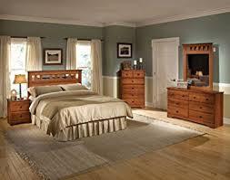amazon com cambridge seasons five piece suite queen bed dresser