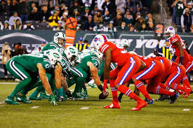 the uniforms in last night u0027s jets bills game were a nightmare for