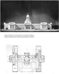 Capitol Building Floor Plan Oregon State Capitol 75th Anniversary The Competition For The New