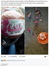 stockton mum criticises l o l surprise big surprise toy daily