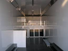 V Nose Enclosed Trailer Cabinets by Car Mate 8 5 X 38 Gooseneck Car Trailer Racing Sprint Car Trailer