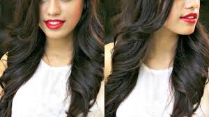 how to make flicks with a hair straightener loose outwards waves with straightener and curling iron debasree