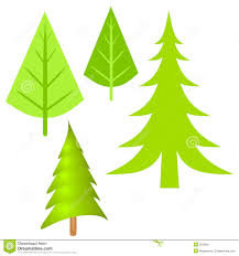 simple pine tree clipart clipartxtras