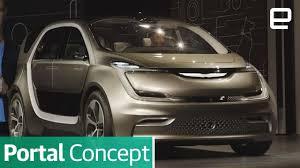 bmw minivan concept chrysler unveils its concept minivan for the selfie generation