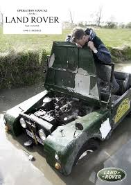 land rover series 3 engine land rover series 1 owner u0027s manual 1950 by per einarsson issuu