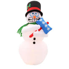 Outdoor Christmas Decorations At Home Depot Animation Christmas Inflatables Outdoor Christmas Decorations