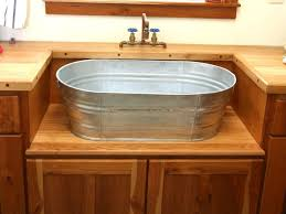 bathroom 51 metal bucket washer inspired for rustic accent