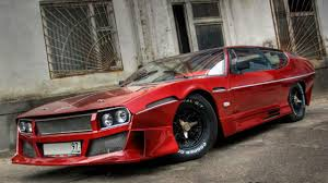 red chrome lamborghini what u0027s your opinion on this russian lamborghini espada top gear