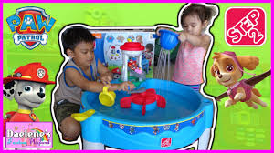 Water Table For Kids Step 2 Step2 Paw Patrol Water Table Kids Outdoor Play Toys And Kids Water