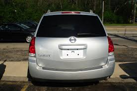 2006 nissan quest silver used mini van