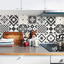 Tile Decals For Kitchen Backsplash by Grey Tile Decals Tile Stickers Set Geometric Traditional