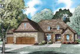 French Country House Plan House Plan 82236 At Familyhomeplans Com