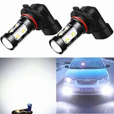1995 lexus ls400 warning lights amazon com alla lighting 50w cree 9006 hb4 white high power