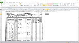 Schedule E Worksheet Census Comparison Worksheet Ancestor Roundup