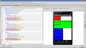 android layout width lesson how to build android app with linearlayout plus layout