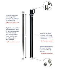 amazon com chopsticks u0026 chopstick amazon com finesscity titanium chopsticks with aluminium case