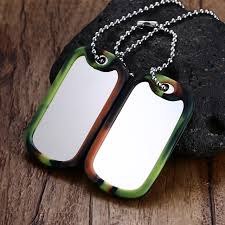 tag necklace mens images Mprainbow mens necklaces pendants stainless steel army camouflage jpg