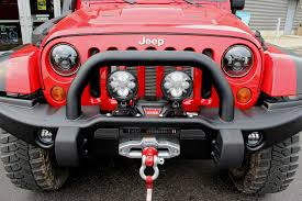 red jeep liberty 2007 j w speaker 6145 fog light replacement kit for 2007 jeep