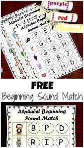 free phonics beginning sound do a dot worksheets