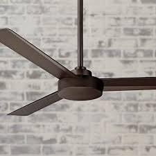 oil rubbed bronze ceiling fan no light 52 minka aire roto oil rubbed bronze ceiling fan bronze ceiling