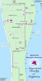 Fort Myers Florida Map by