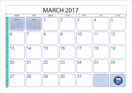 march 2017 printable calendar template printable 2017 calendar