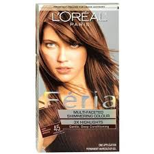 hair color for 45 loreal feria multi faceted shimmering hair color 45 french roast