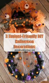 three budget friendly diy halloween decorations