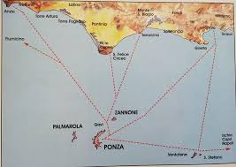 Capri Italy Map by Ponza Italy Pictures Citiestips Com