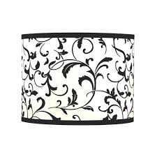 black drum lamp shade with spider assembly sh9515 destination