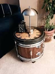 drum table for sale bass drum table bass drum clock table bass drum coffee table for
