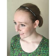 non slip headbands non slip grip black white thin sport running soccer headbands for