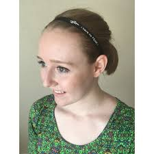 headband sports non slip grip black white thin sport running soccer headbands for