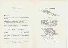 Program For Funeral Service 1942 May 22 U2013 Funeral Bulletin For Mrs Mattie Byrd Bishop Ransom